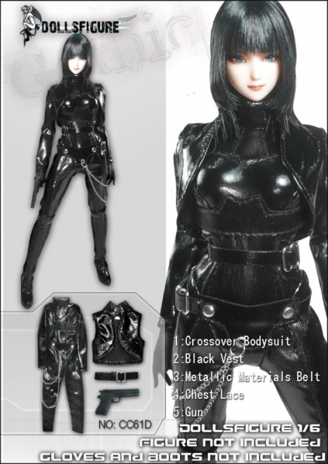 Cat Girl Black Set