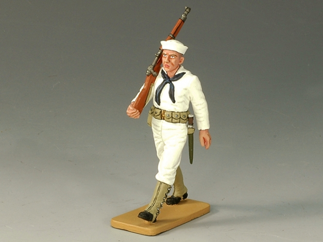 Sailor Marching w/Rifle
