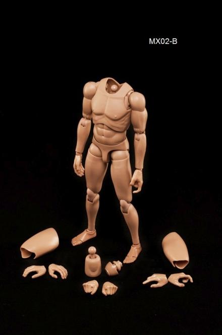 Male Body Regular Type - Tan