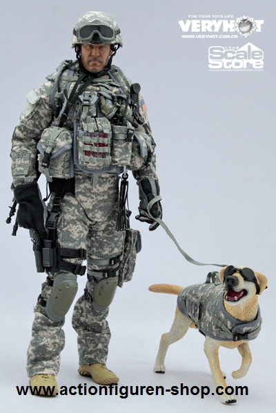 US Army MP with Dog