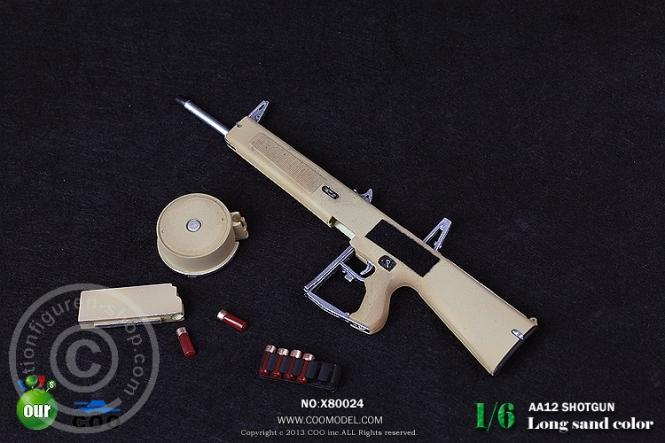 AA12 Shotgun - Long Sand