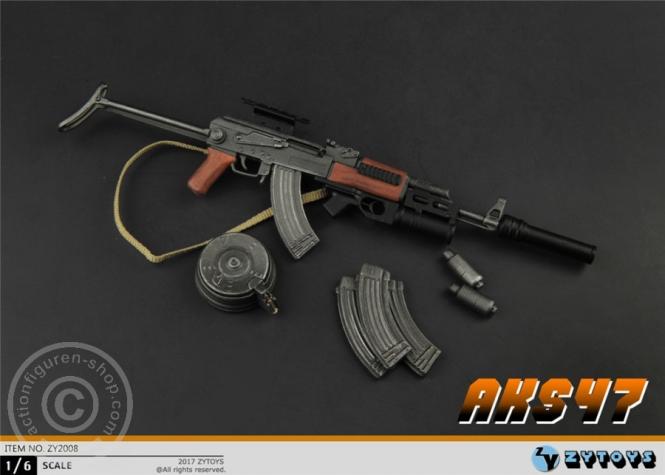 AKS47 mit GP25