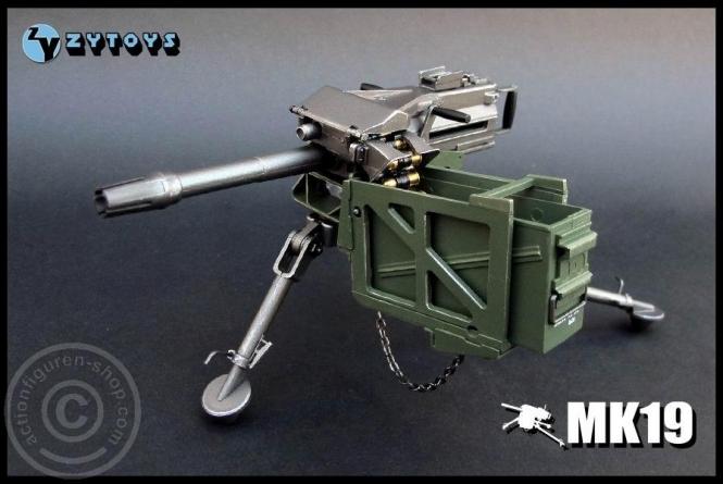 MK-19 - 40mm Granatwerfer