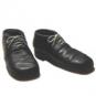 Brogans - Schuhe, schwarz