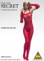 Fishnet Bodysuit Set - rot