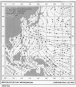 Landkarte RAF WW-II - s/w