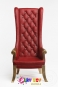 High Back Chair - Red
