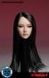 Female Head - black long Hair