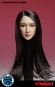 Female Head - long black Hair