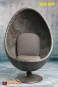 Egg Chair - marble-blue/grey