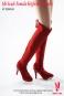 Stiefel, sehr hoch - rot