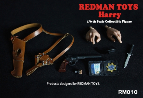Redman Toys 1//6 Inspector Dirty Harry Callahan Clint Eastwood Figure Holster