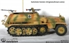 SdKfz 250 Typ 01 - Metall SdKfz 250/1, green-brown camo