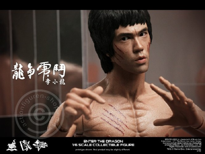 Hot Toys DX04 Enter The Dragon BRUCE LEE Figure 1//6th Scale BAG with STRINGS