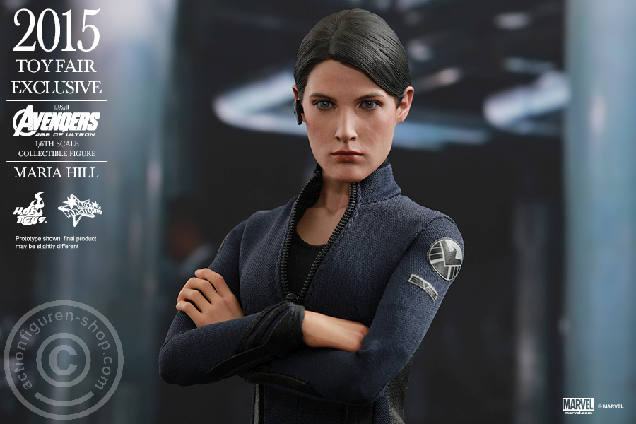 US HOT TOYS 1//6 MARVEL AVENGERS EXCLUSIVE MMS305 AGENT MARIA HILL FIGURE