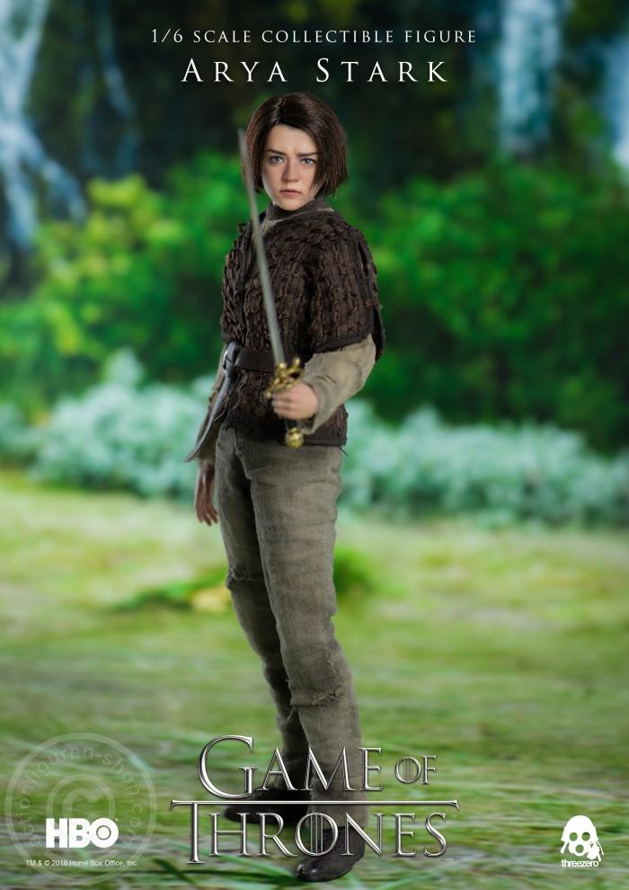 Www Actionfiguren Shop Com Game Of Thrones Arya Stark Buy Online