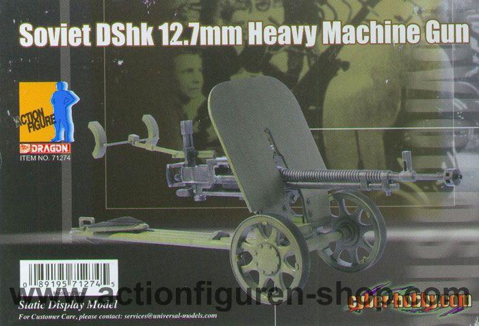 1:87 H0 1W13 Führungsfahrzeug mit 12,7-mm Fla-MG DSchK DDR UdSSR