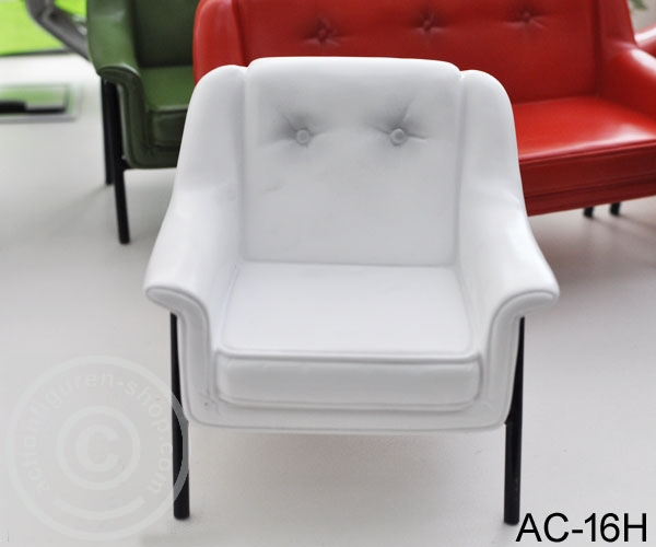 Single Sofa White