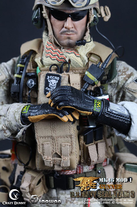 US Navy Seal Team 3 - MK46 GunnerNavy Seal Team 3
