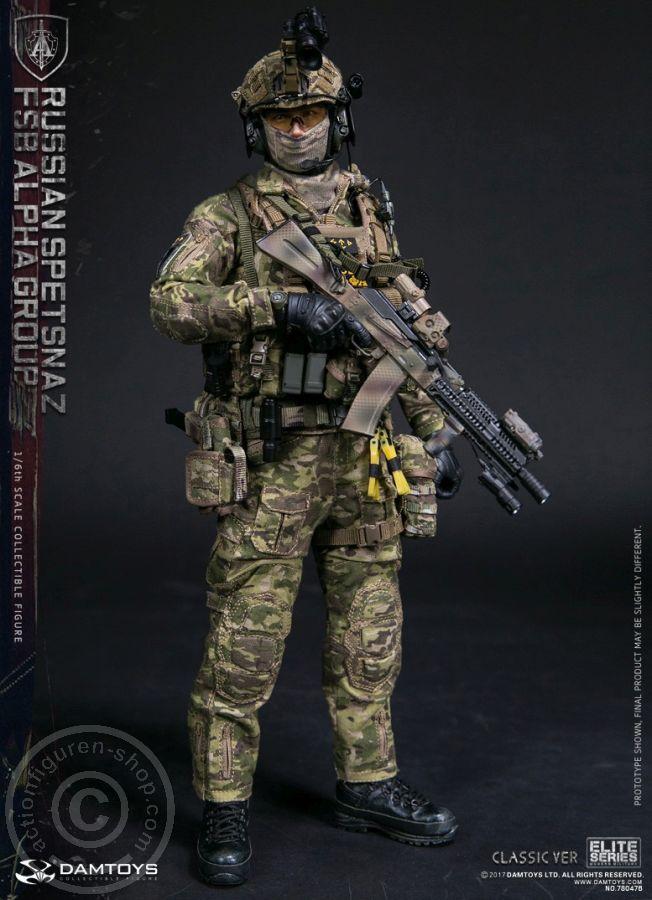 1//6 Scale FSB Alpha Group CLASSIC Version Black Camo Helmet Se
