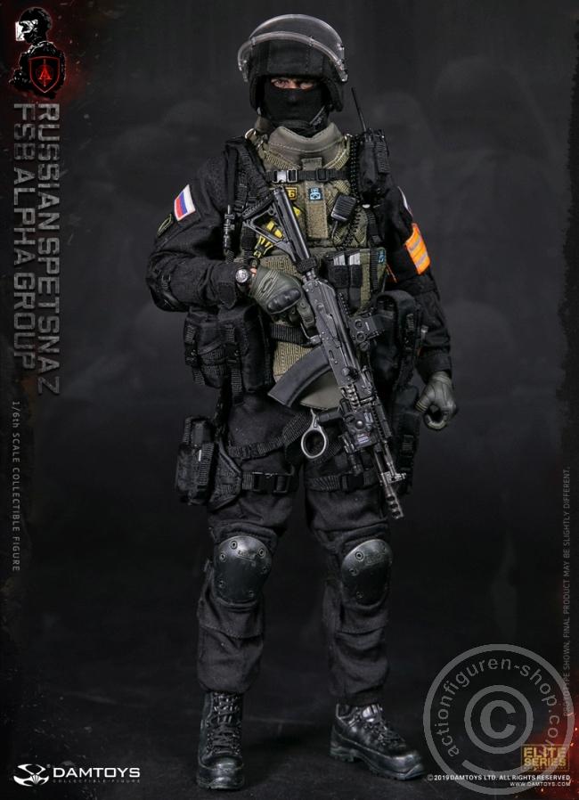 1//6 DAM DAMTOYS Russian FSB Alpha Group CL Grey Shirt