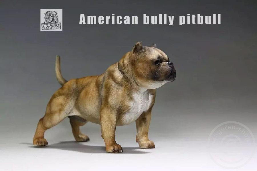 www actionfiguren-shop com   American Bully Dog - dark color