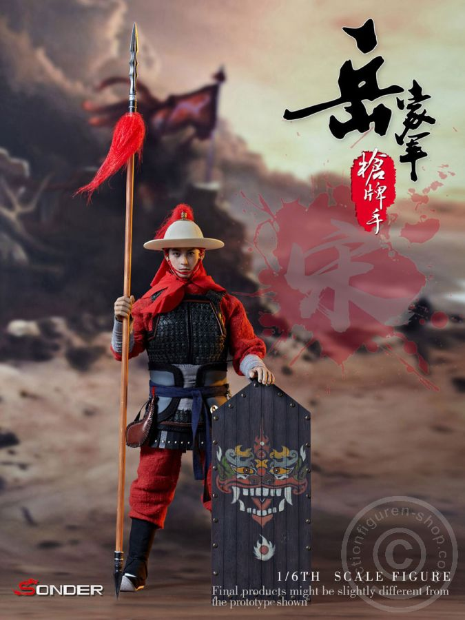 SONDER SD003 1//6 Scale Song Dynasty Warrior of Army Yue Waist Armor Model