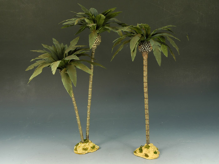Desert Palm Tree Double Group Set + 1 Single
