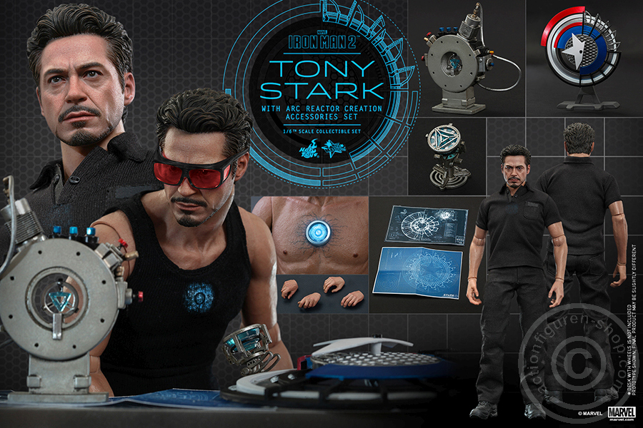 iron man 2 tony stark with. Black Bedroom Furniture Sets. Home Design Ideas