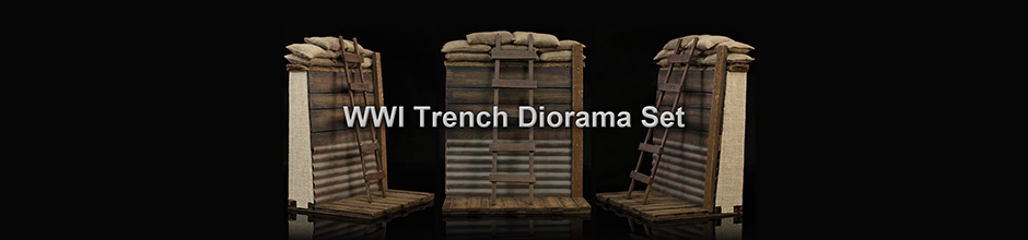 Banner - Trench Diorama