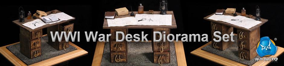 Banner - War Desk Diorama